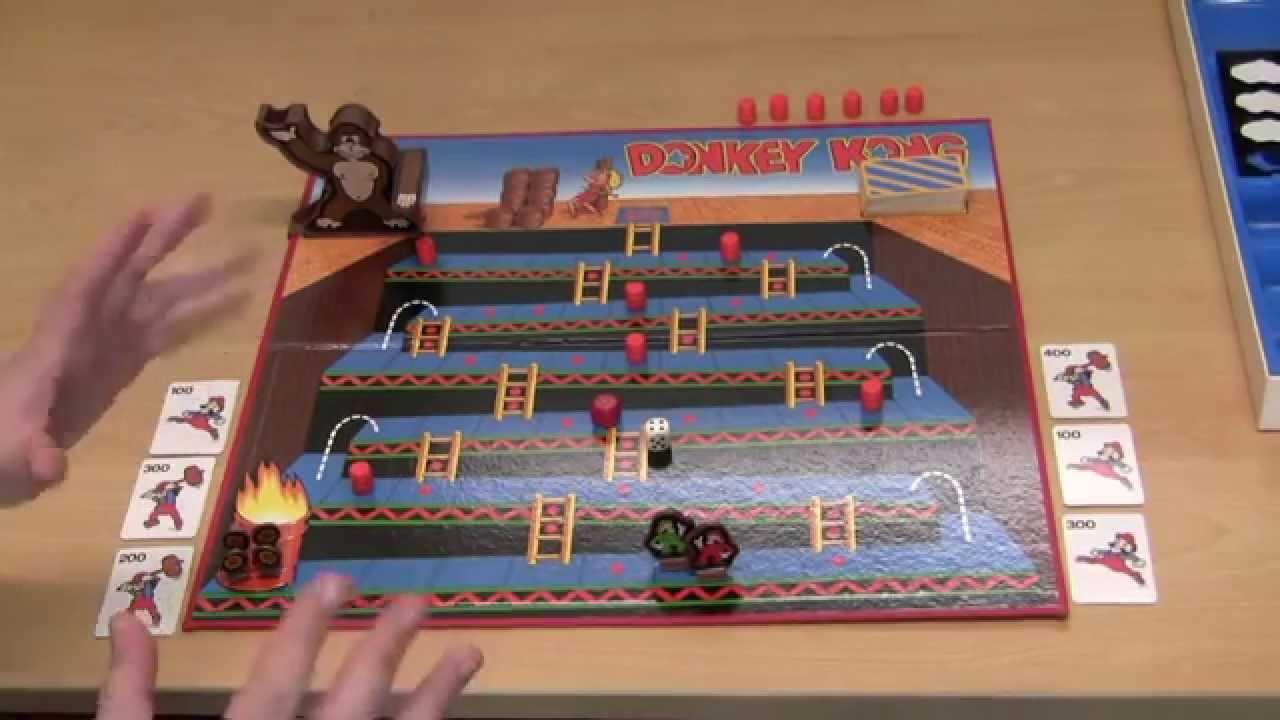 Donkey Kong – The Board Game | Guru Larry & Ashens