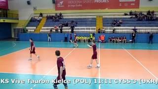 U15 boys. Group M02 gr2. Lajkonik cup 2017. CYSS 3 (UKR) - KS Vive Tauron Kielce - 15:14 (2nd half)