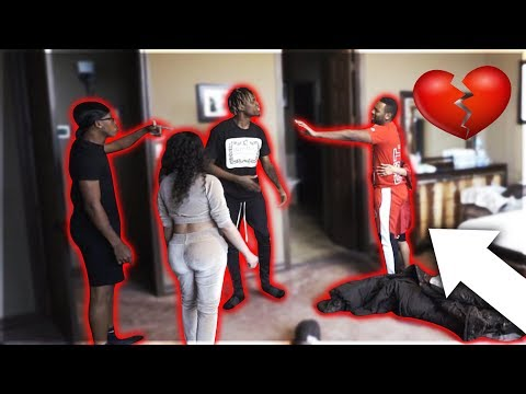 "CAUGHT CHEATING IN BED PRANK WITH CARMEN FROM ""CARMEN & COREY, NIQUE & KING"" & GIRLFRIEND"
