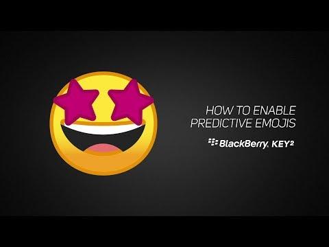 How to enable emoji keyboard on blackberry z10