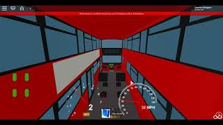Roblox London Hackney & Limehouse bus Simulator MCV EvoSeti Volvo Hybrid GAL Route 135 to Stepney
