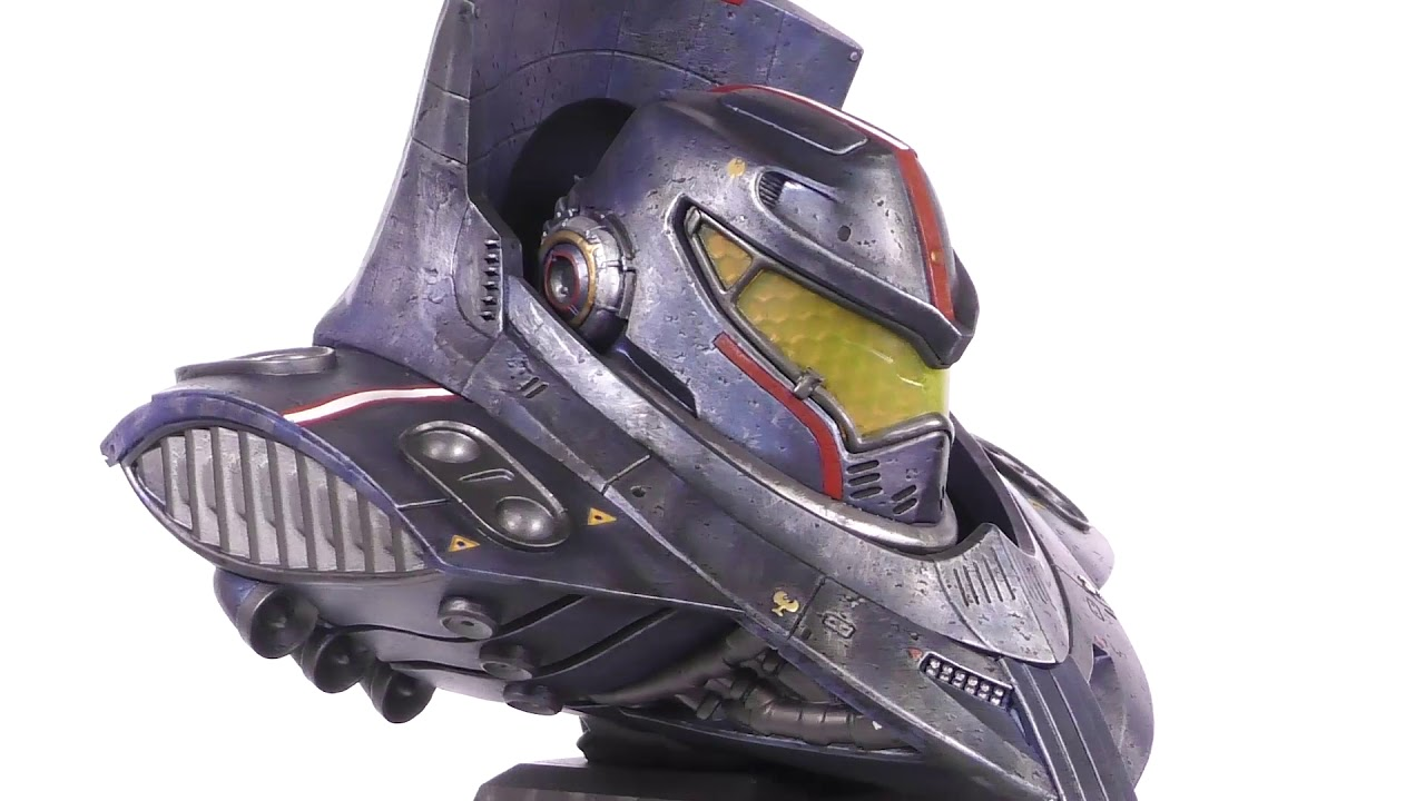 Legends in 3D Pacific Rim Gipsy Danger 1/2 Scale Resin Bust Unboxing + 360