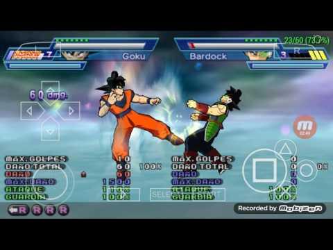 Dragon Ball Z Shin Budokai 2 Todos os Combos,Ataques e Super Ataques de Goku