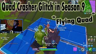 *Quad Crasher* Glitch In Season 9 (Still Working) - Fortnite Epic Fails & clips! #74