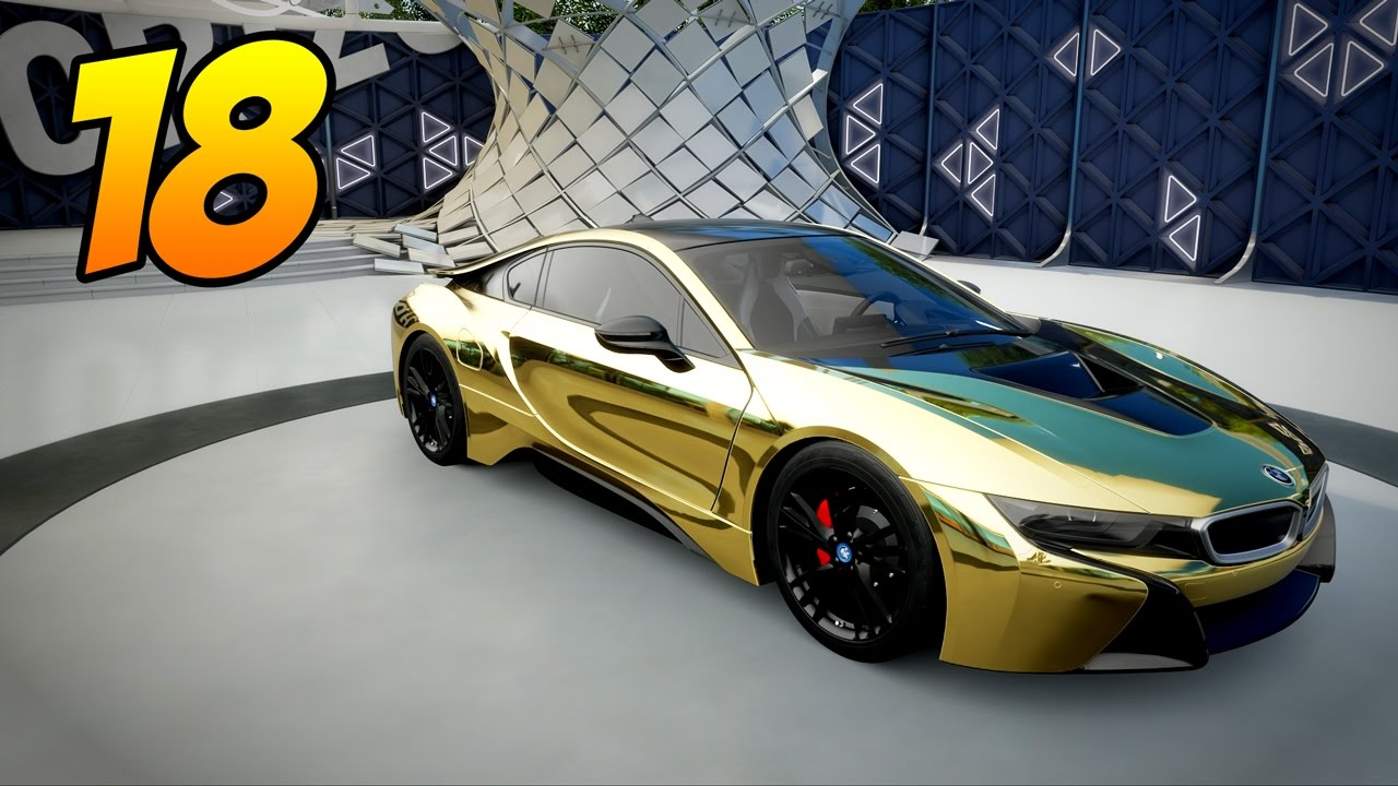 Forza Horizon 3 Gameplay Part 18 The Gold Bmw I8 Is Amazingly