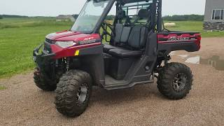 2018 Ranger 1000XP ECU Upgrade and Clutch Kit Drivability