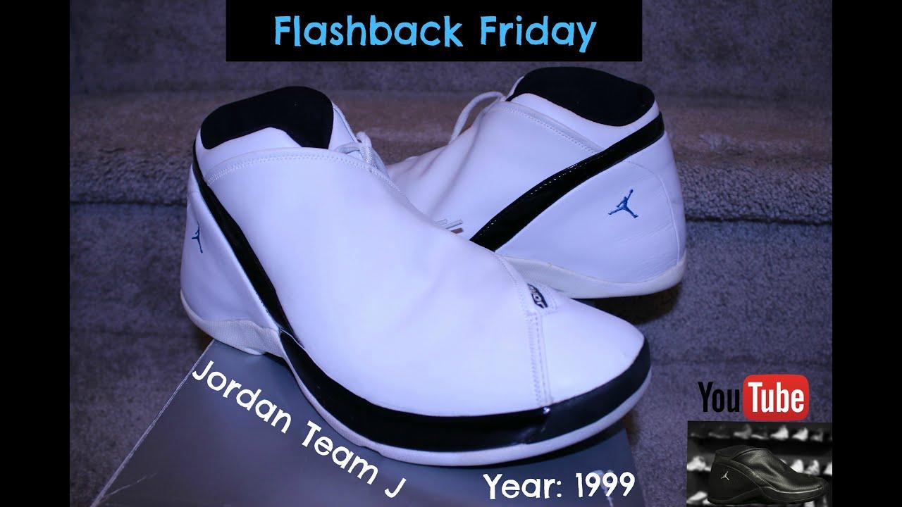 FLASHBACK FRIDAY Jordan Jumpman Team J