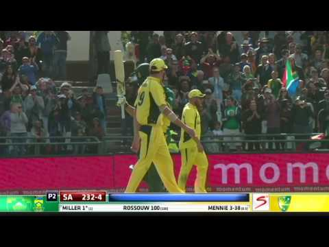 South Africa vs Australia - 5th ODI - Match  Highlights