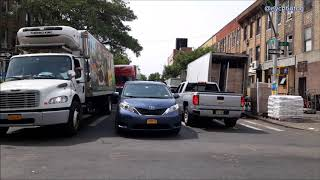 Double Parked Vehicles Block Ambulance On Emergency Call In Boro Park