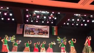 Radha on the dance floor+Chitiyan Kalaiyan!