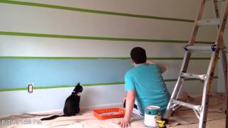 Painting Accent Wall