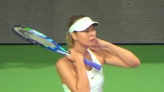 Maria Sharapova'nın hırsı..  Sinan Erdem Spor Salonu 26/11/2017 Video