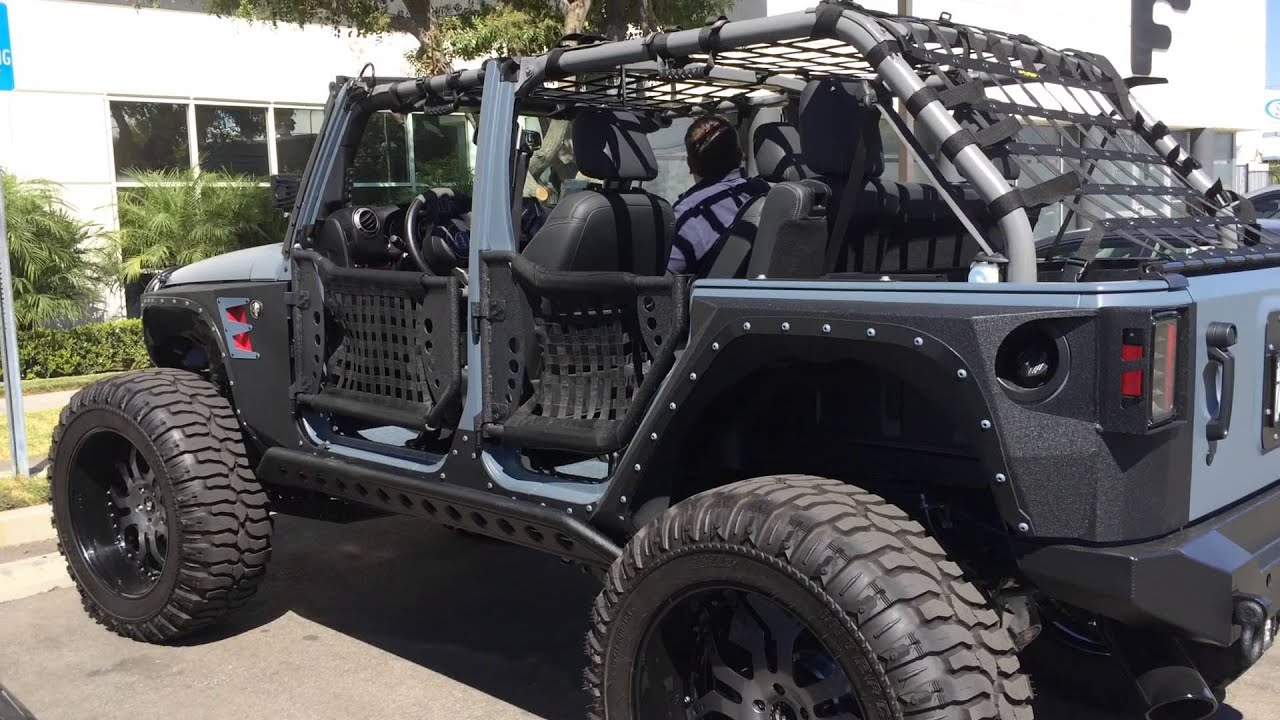Jeep Punisher Edition Ep 56 Forgiato Visit And Hid
