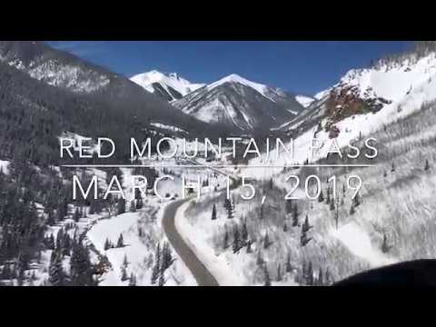 Red Mountain Pass - Extended Closure Due to High Avalanche Activity - March 15, 2019