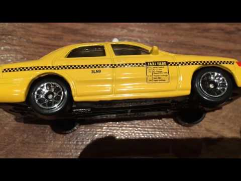 Premier Diecast Taxis From Around the World