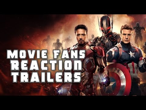 Movie Fans Trailer Reactions to Marvels The Avengers (2012 - 2019)