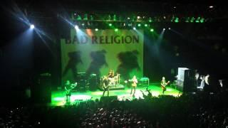 BAD RELIGION CHILE 2011 drum solo - american jesus - Infected - sorrow