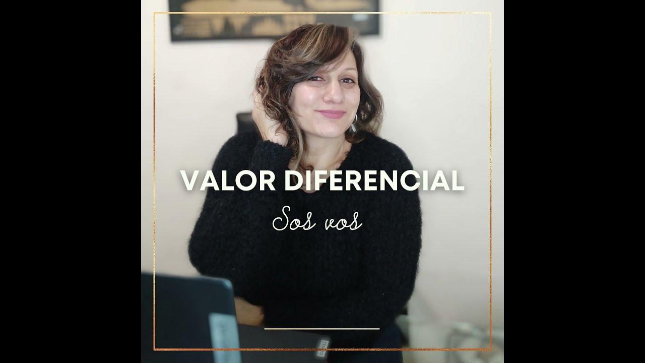 Valor diferencial...