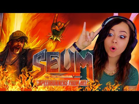 THIS GAME IS HELLA FUN!!! l SEUM: Speedrunners from Hell #1 |