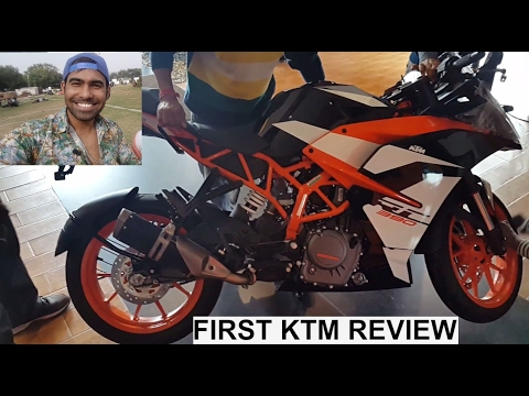 GREAT DISCOUNT ON NEW KTM RC 2017 - EXAUST SOUND | FIRST REVIEW
