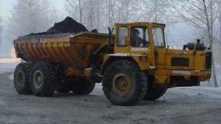 Old Volvo construction equipment & trucks.wmv