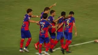 90分、ディエゴ・オリヴェイラのパスをリンスが決めてFC東京が先制! FC...