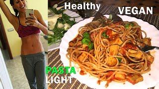 PANCIA PIATTA: LA PASTA CHE NON FA INGRASSARE !!! | Carlitadolce Cucina - Healhty Vegan Spaghetti