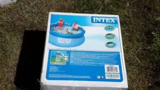 Надувной бассейн Intex 56972 Easy Set Pool d=244 обзор