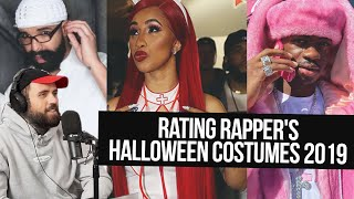 Rating Rappers' Halloween Costumes 2019