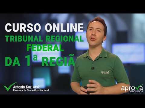 Curso Online TRF 1 - Tribunal Regional Federal da Primeira Região