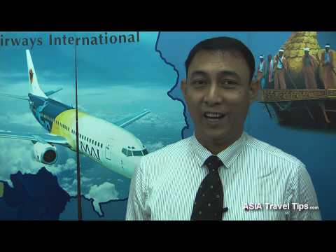 Myanmar Airways - Interview with Country Manager (Thailand and Cambodia) - HD