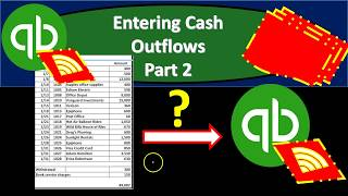 QuickBooks Online 2019-Entering Cash Outflows Part 2