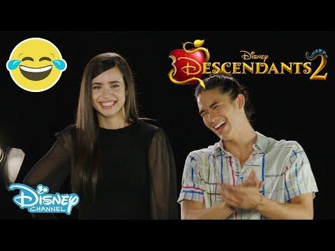 Descendants 2 | Who Said that? ft. Sofia Carson & Booboo Stewart | Official Disney Channel UK