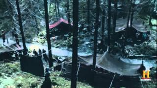 Vikings S4 E1 Rollo massacres his own men