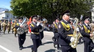Парад Победы в Симферополе 2016(В Симферополе 9 мая прошёл Парад, посвящённый 71-й годовщине победы в Великой отечественной войне. В нём прин..., 2016-05-09T09:08:00.000Z)