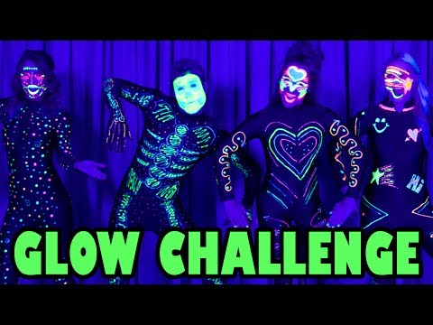 GLOW IN THE DARK DANCE CHALLENGE