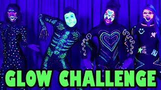 GLOW IN THE DARK DANCE CHALLENGE