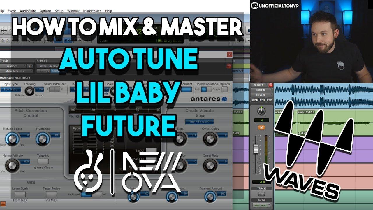 FULL WAVES Mixing & Mastering Studio Session | AUTO TUNE RAP