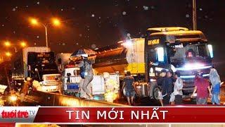 ⚡ Tin mới nhất   Xe cứu hộ va chạm container ngay cầu Phú Mỹ, 3 người tử vong