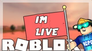 ☑️ ROBUX GIVEAWAY! ☑️ |🔴ROBLOX LIVESTREAM! 🔴 | CAN WE GET 1K SUBSCRIBERS?!