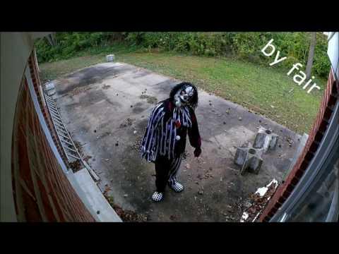 Топ 10 жутких клоунов снятых на камеру
