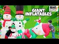 HUGE Christmas INFLATABLES Decorations at BIG LOTS 2018 - Unboxing New Inflatables #christmas2018