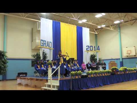 Rebekah graduation 2014 Faith Heritage School, Syracuse NY