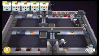 [Overcooked: Level 5-6] 2-Player World Record Score: 114