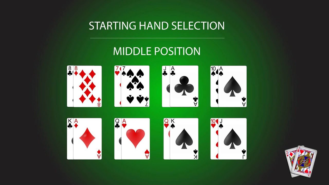 What are good starting poker hands