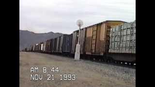 Southern Pacific at Tehachapi Summit, Nov 1993