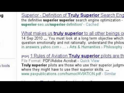 The Superior SEO Story