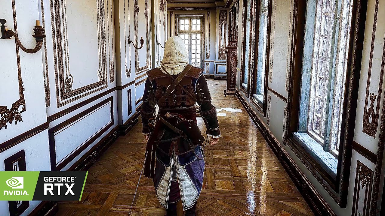 Assassin's Creed Unity in 2021 [PC] Ray Tracing Realistic Graphics MOD | GEFORCE RTX™ 3090