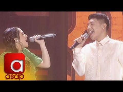 ASAP: Darren Espanto and Jayda Avanzado sing