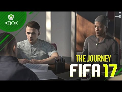 TIME ESCOLHIDO !!! - FIFA 17 - The Journey #03 [Xbox One]